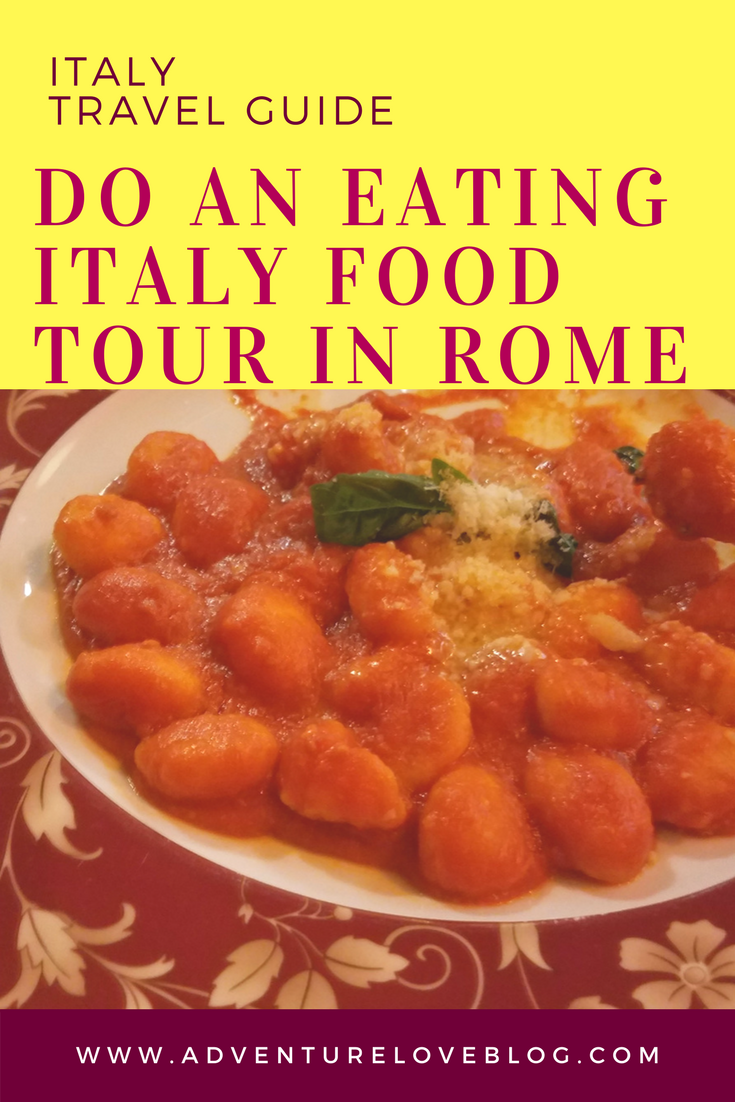 Italy Travel Tip: Do An Eating Italy Food Tour