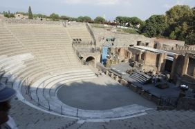 Italy Travel Tip   Plan for Pompeii   Stadium seating