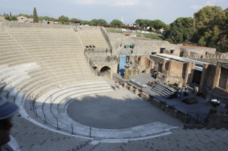 Italy Travel Tip | Plan for Pompeii | Stadium seating