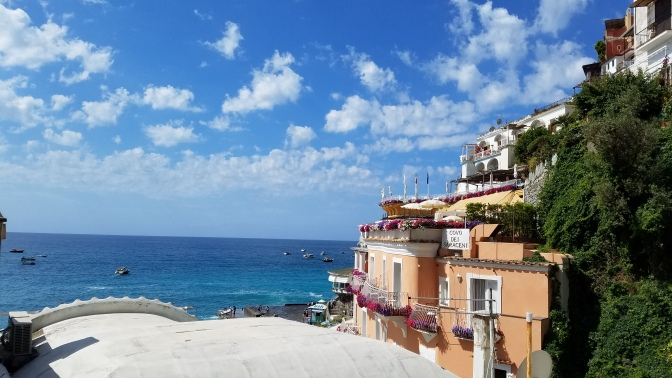 Italy Travel Tip | Hire a Private Driver to Take you to Positano on the Amalfi Coast