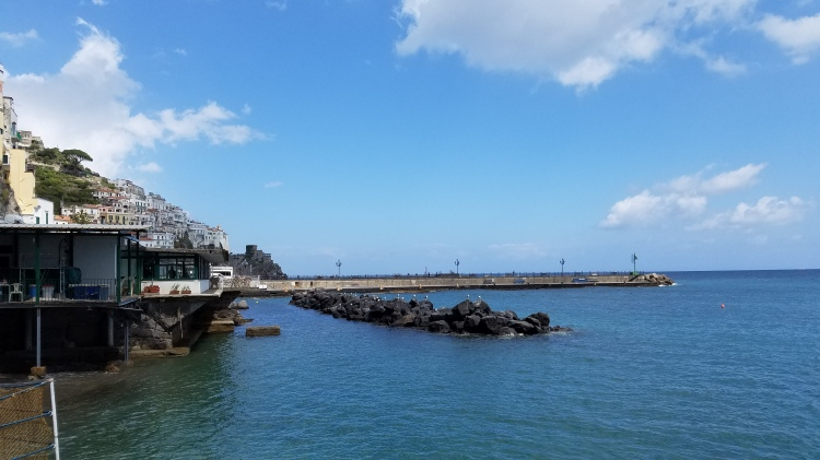 Italy Travel Tip | Hire a Private Guide to Take You to the Amalfi Coast | Take his lunch recommendation and enjoy the view.