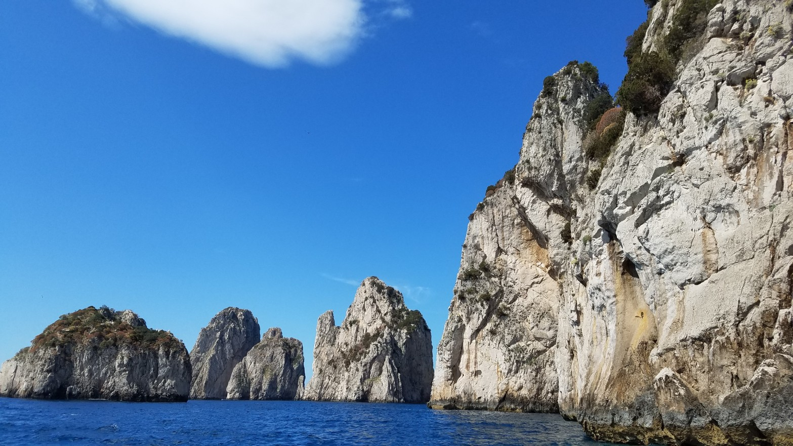 Italy Travel Tip | Take a Private Boat Ride Around Capri with Gianni's Boats