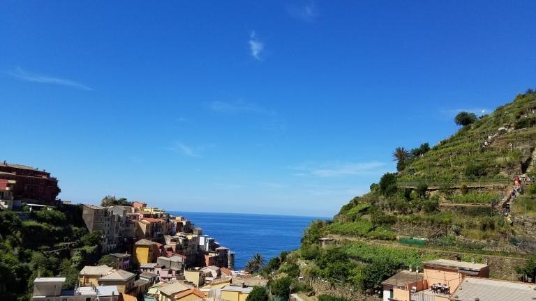 Italy Travel Tip | Take a day trip from Florence and hike Cinque Terre