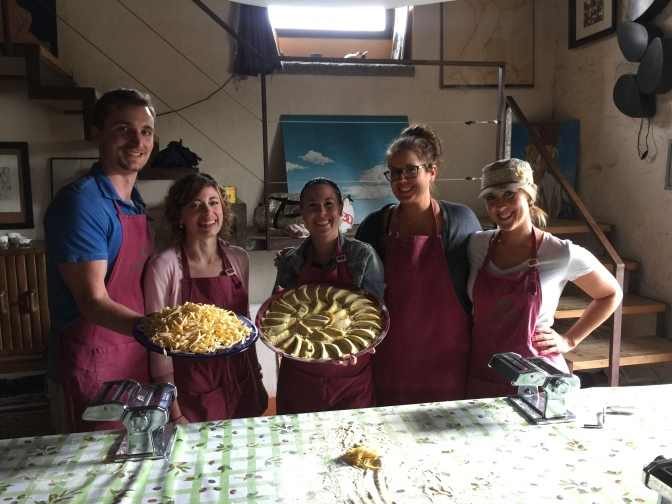Italy Travel Tip | Take a cooking class in a local home in Tuscany and make delicious pasta