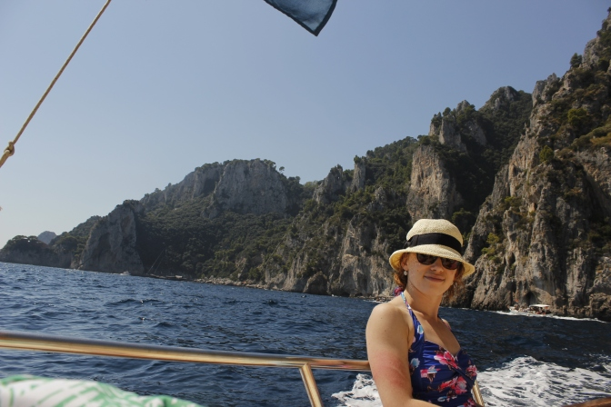 Italy Travel Tip | Take a private boat tour around Capri with Gianni's Boats
