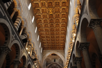 Italy Travel Tip | Everyone goes to see the tower, but check out the baptistry while you're in Pisa, too