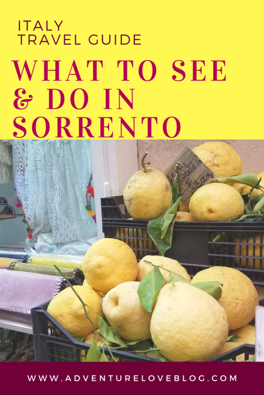 Italy Travel Guide | What to See & Do In Sorrento