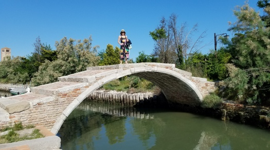 Bridge in Torcello, Italy