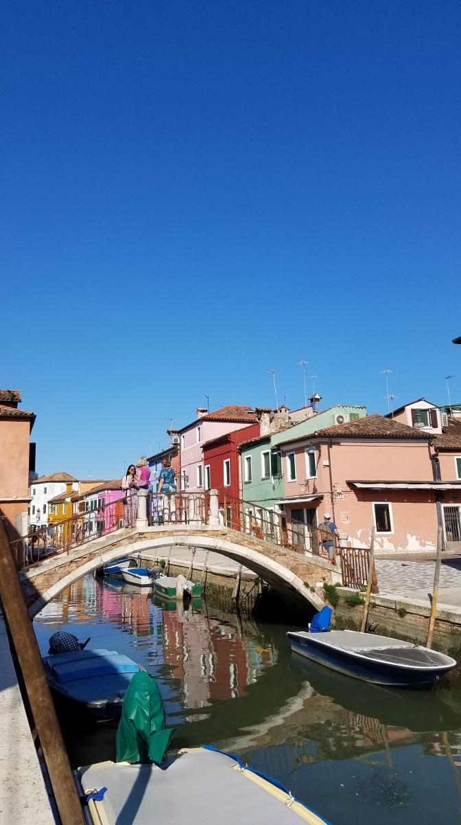 Bridge in Burano, Italy