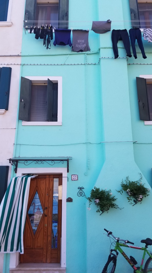 Building in Burano, Italy