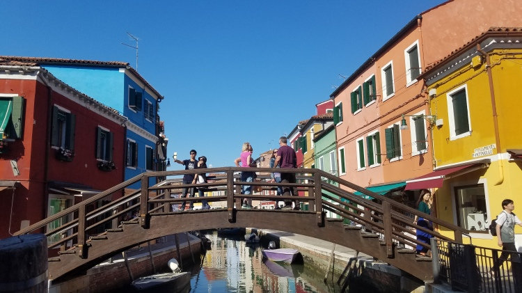 Bridge in Burano, Italy