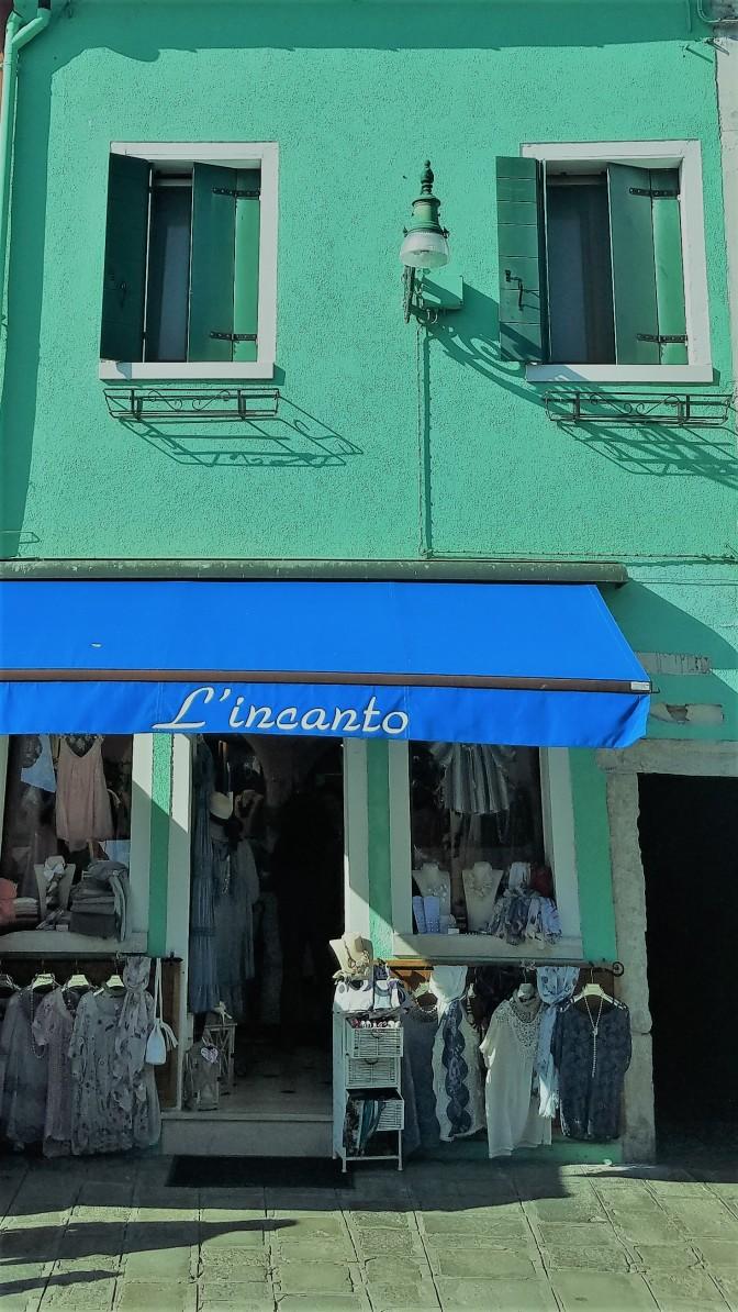 L'incanto in Burano, Italy
