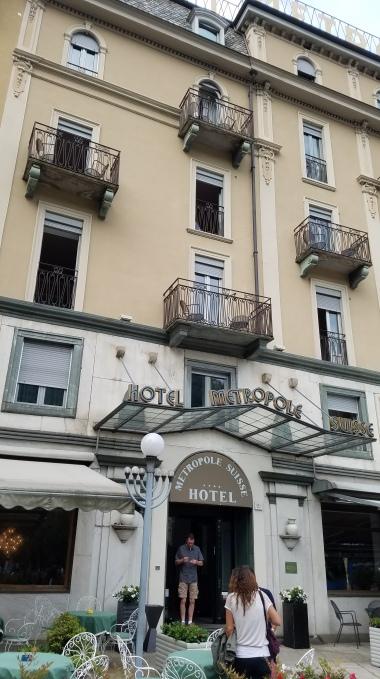 Hotel Metropolis, Como, Italy
