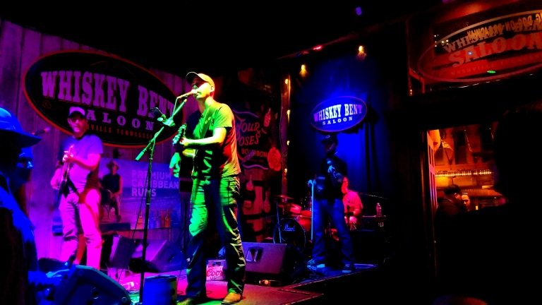 Jesse Cain, Whiskey Bent Saloon, Nashville, TN