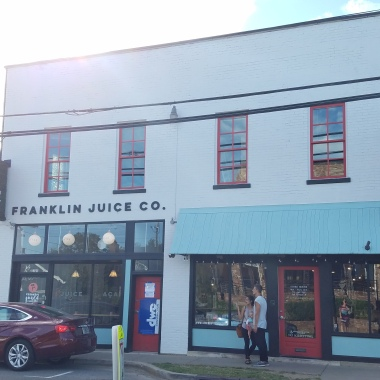 Franklin Juice Company, The Gulch, Nashville, TN