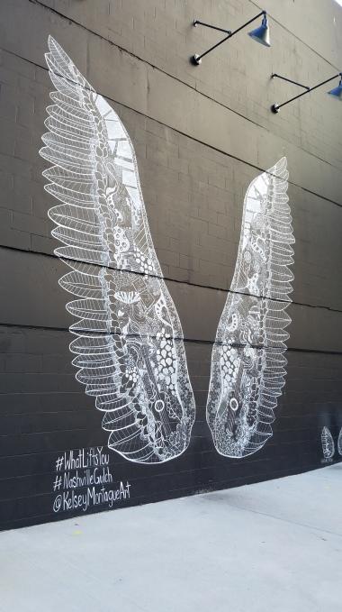 Angel wings, The Gulch, Nashville, TN