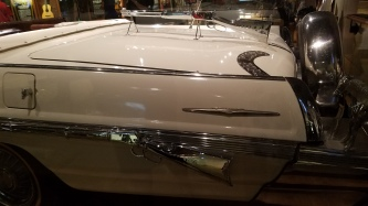 Why, yes, those are gun details on this super-snazzy (read: gaudy) country musician's car
