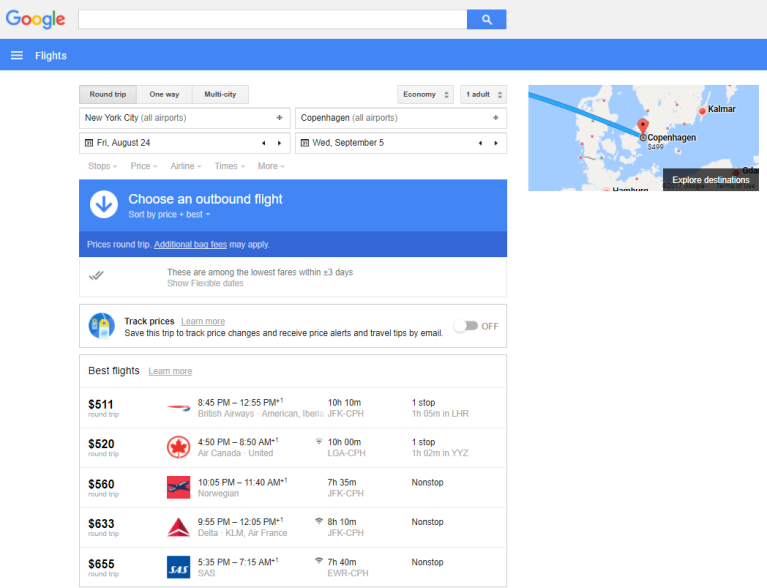 3 sites to use for finding affordable airfare & how to use them | google flights