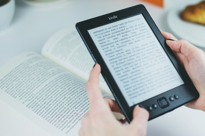 10 Tips for International Travel | Load up your Kindle with books; it's way lighter than carrying a bunch of hardcovers around with you & you never run out of things to read!