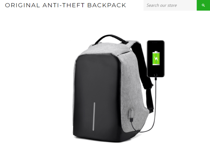 16 awesome gifts for the globetrotter in your life   antitheft backpack