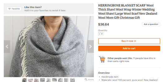 16 awesome travel gifts | Blanket scarf