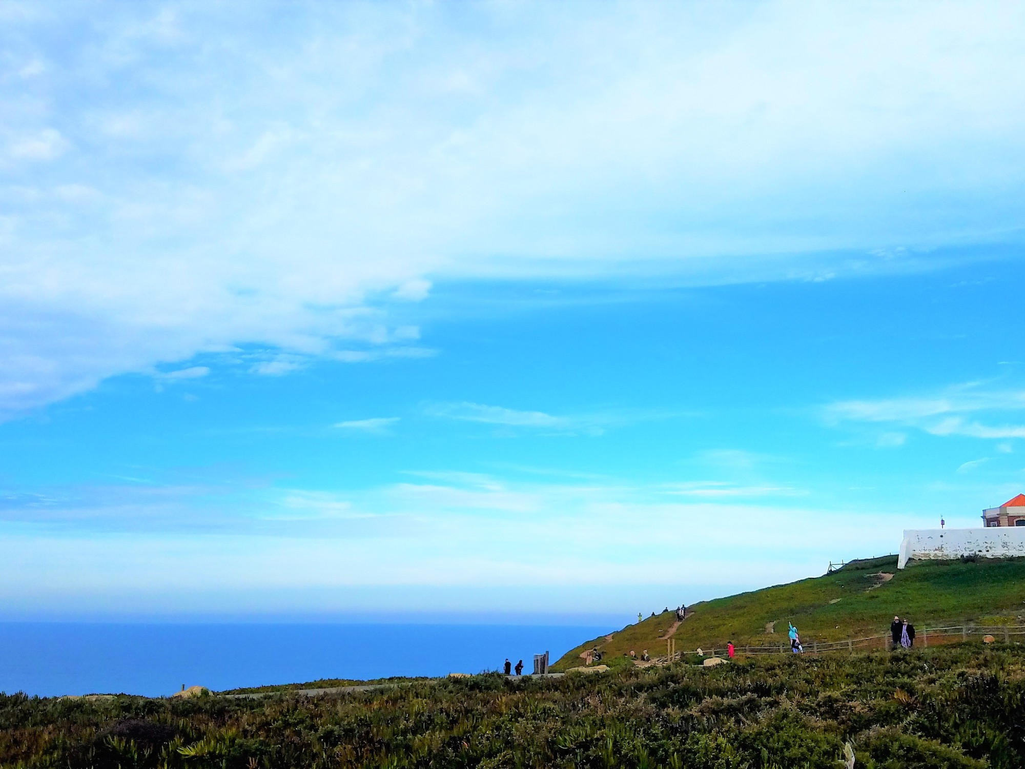 10 Things I Learned About Portugal | Lighthouse sits at the westernmost point of Europe in Cabo da Roca.