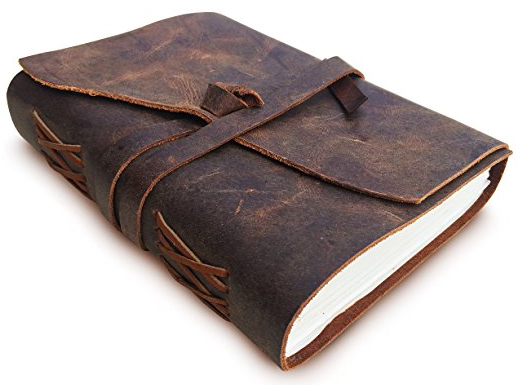 16 awesome gifts for globetrotters | Leatherbound travel journal
