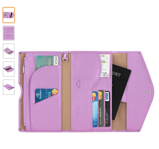 16 awesome travel gifts | RFID travel wallet and passport holder