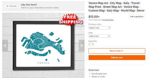 16 awesome travel gifts | Map Art