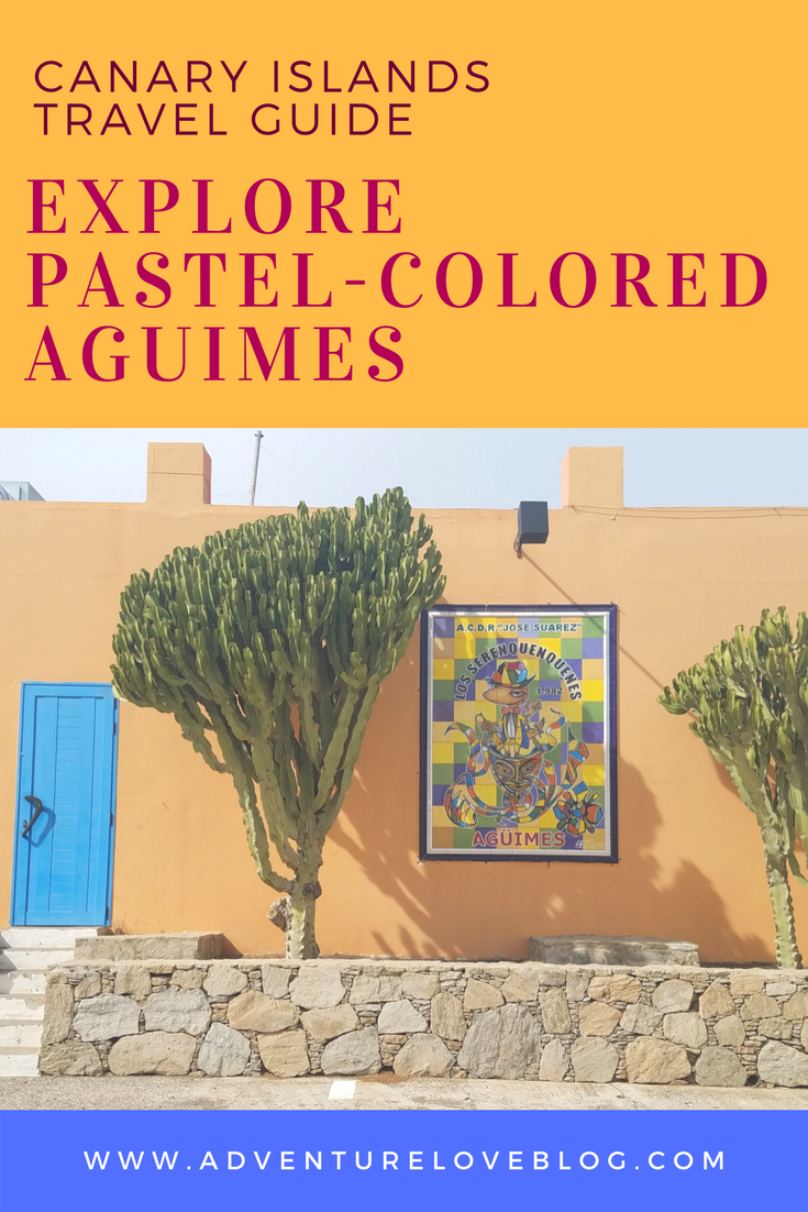 Canary Islands Travel Guide | Explore the Pastel-Colored Town of Aguimes on Gran Canaria