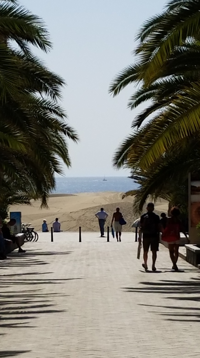 Canary Islands Travel Tip | Prepare for Maspalomas | Go in the early morning, before the sand gets too hot