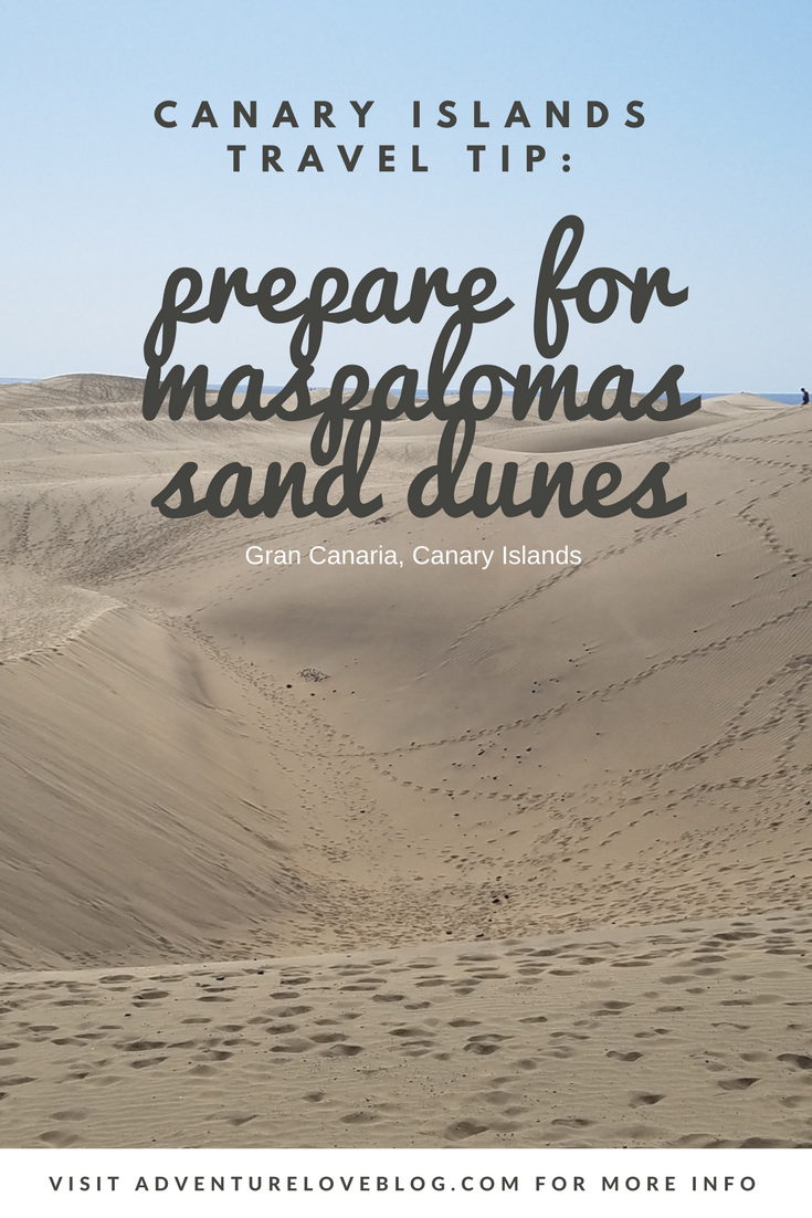 Canary Islands Travel Tip | Prepare for Maspalomas | Pin for Later