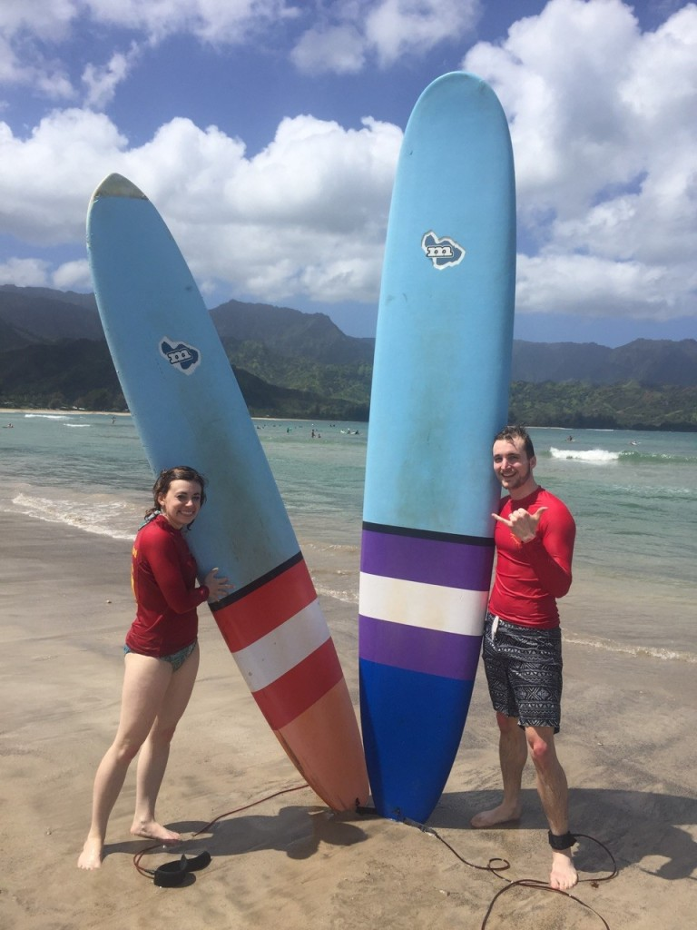10 things to do in Kauai, Hawaii: Take a surfing lesson