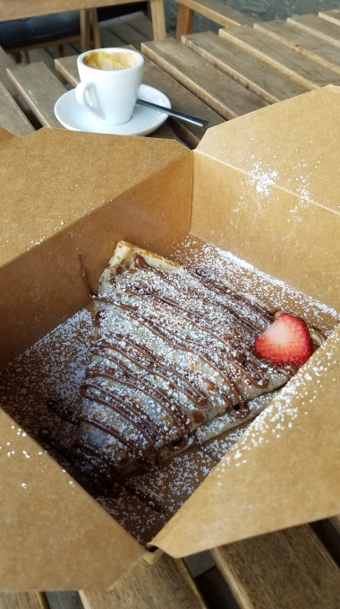 Where to eat in Kauai   Get crepes at Banandi!