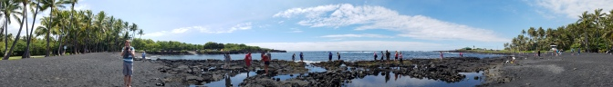 Hawaii Travel Guide | Big Island In a Day Tour | Punaluu Black Sand Beach Park