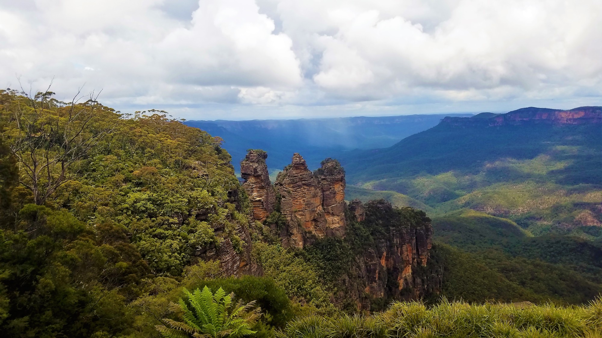 Australia Travel Guide | Three Sisters | Echo Point | Blue Mountains National Park