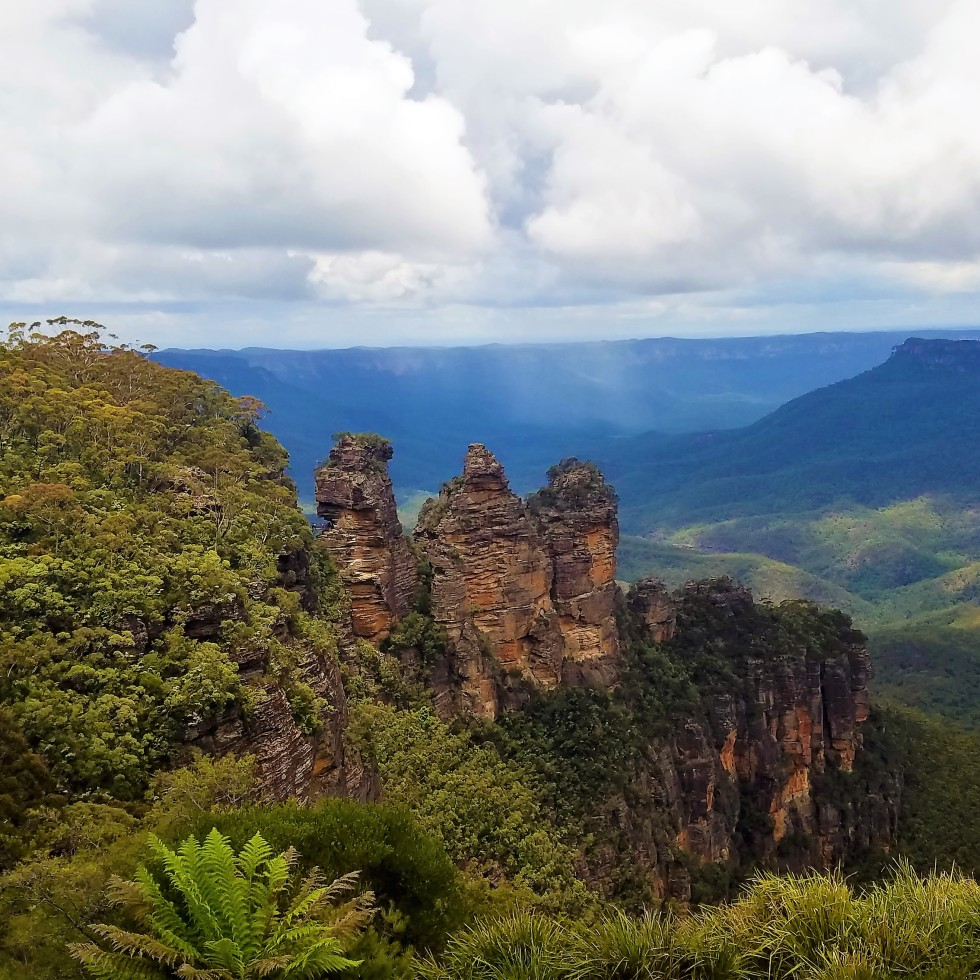 Australia Travel Guide   Three Sisters   Echo Point   Blue Mountains National Park