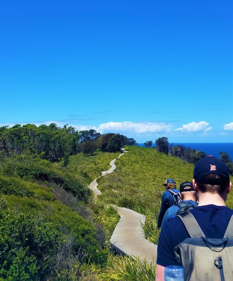 Australia Travel Guide | Figure 8 Pools Hike | Royal National Park | Barefoot Downunder