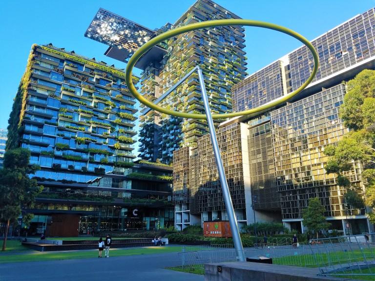 Sydney Australia Travel Guide | Chippendale Green Sculpture