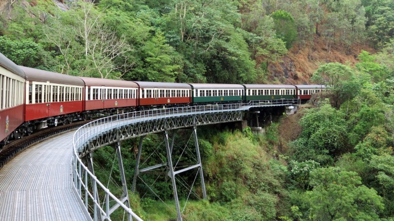 Australia Travel Guide | Kuranda Railway and Skyway Excursion from Cairns, Queensland